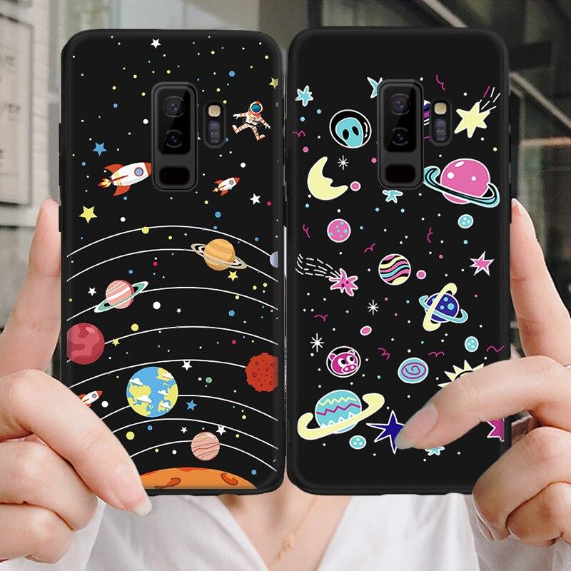 Caso para Samsung Galaxy A6S A9 S9 S8 A8 A6 J4 J6 J7 J8 más A7 A70 A50 A40 A30 a20 2018 Nota 8 9 2017 suave TPU Capa Funda 2019