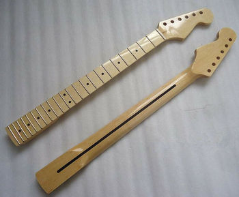 Stratocaster 스타일 글로스 메이플 핑거 보드 용 New Maple 22 Fret 기타 넥