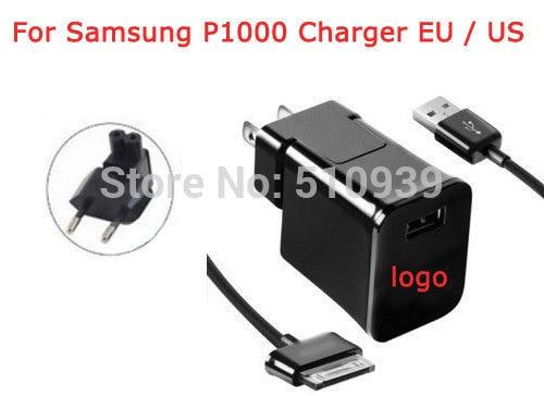 2 unids/lote 5 V/2A nos/cargador de pared de enchufe de la UE + Cable de datos USB para Samsung Galaxy Tab 2 7,0, 8,9, 10,1, nota 2 Tablet P1000 envío gratuito