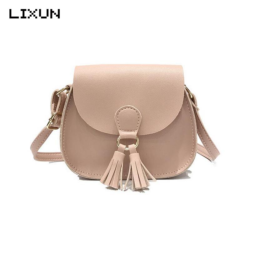 Women Shoulder Bag Fashion Summer Tassel Mini Handbags Cheap Small Brand Crossbody Bag For Girls Lady Cute Messenger Bags Kawaii 2017 fashion all match retro split leather women bag top grade small shoulder bags multilayer mini chain women messenger bags