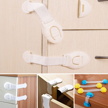 Safety-Lock Toilet Child Drawer Cupboard Cabinet Infant-Protection Baby Kids 10pcs 4-Style