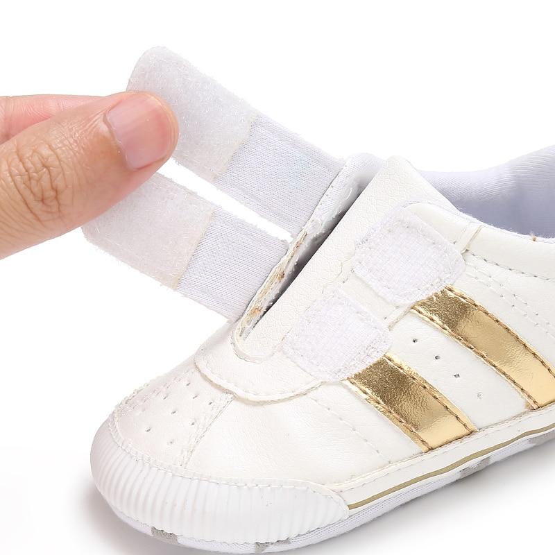 Nowe mody trampki dla niemowląt chłopcy dziewczęce buciki Hook & - Buty dziecięce - Zdjęcie 5