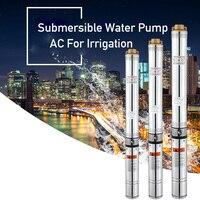 86 400 Вт 40 м подъемный 220v50hz насос для глубоких скважин погружной водяной насос переменного тока для орошения