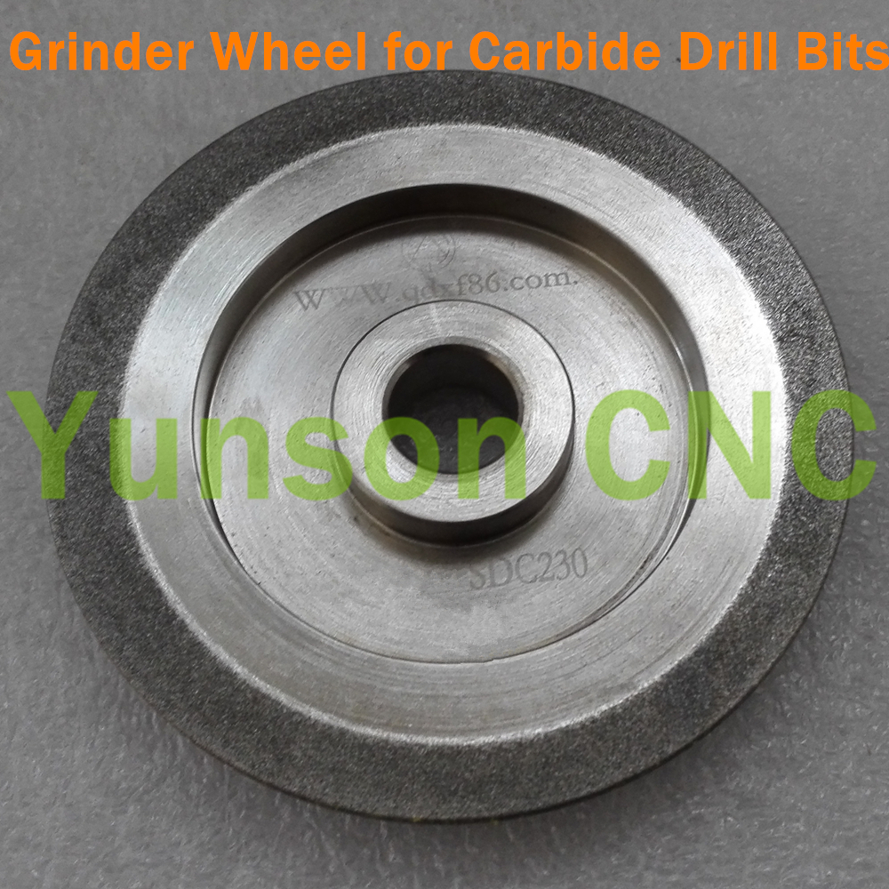 Diamond Grinder Wheel special for grinding sharpening 3mm 13mm Diameter Carbide Material Drill Bits