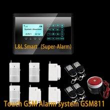Беспроводной Охранной Сигнализации GSM Смарт Охранной Сигнализации Для Дома/Дом/Офис/Промышленной Защиты
