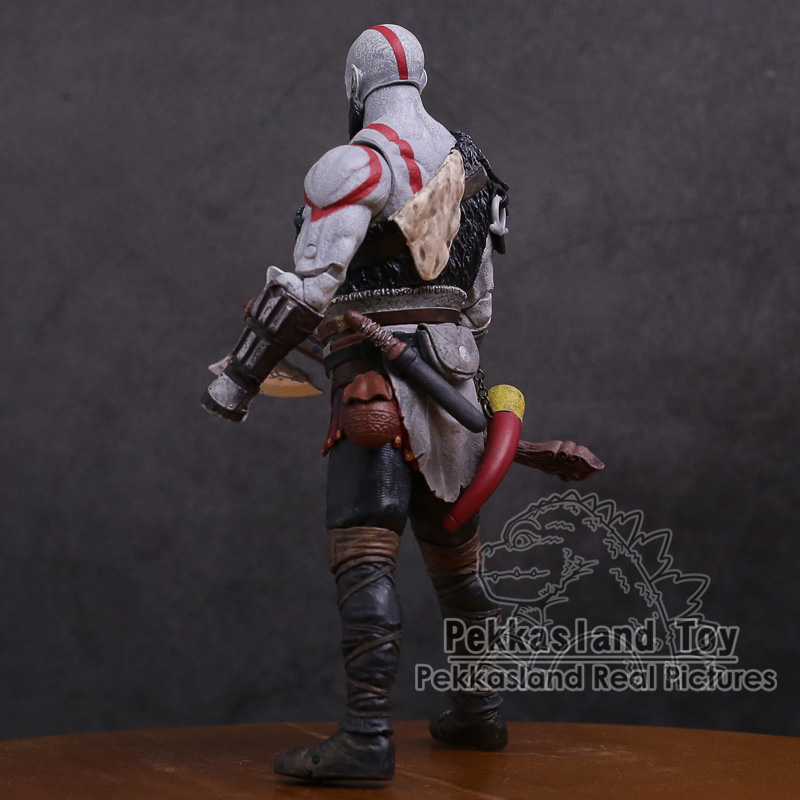 Image 4 - Original God of War 4 Kratos PVC Action Figure Collectible Model Toy 7inch 18cmAction & Toy Figures   -