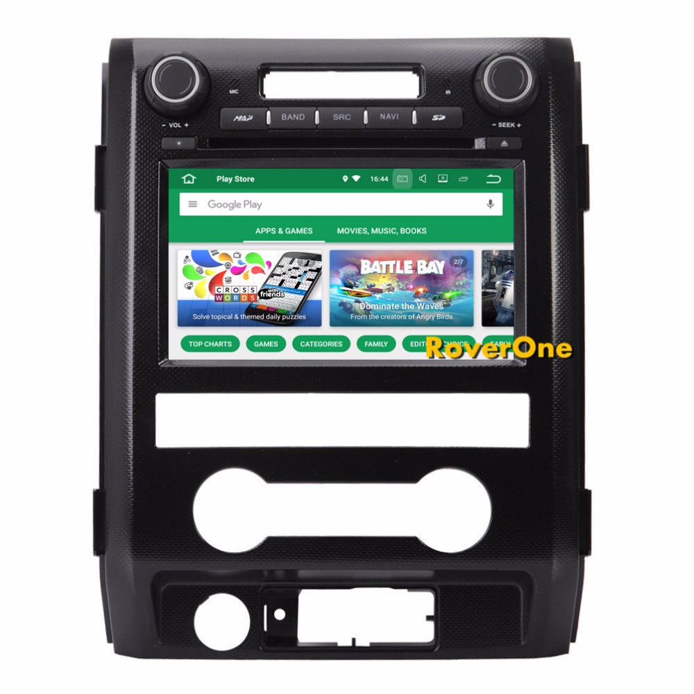 RoverOne Android 8.0 Octa Core Car Radio DVD GPS For Ford F 150 F150 SVT Raptor 2009 Touchscreen Multimedia Player Head Unit