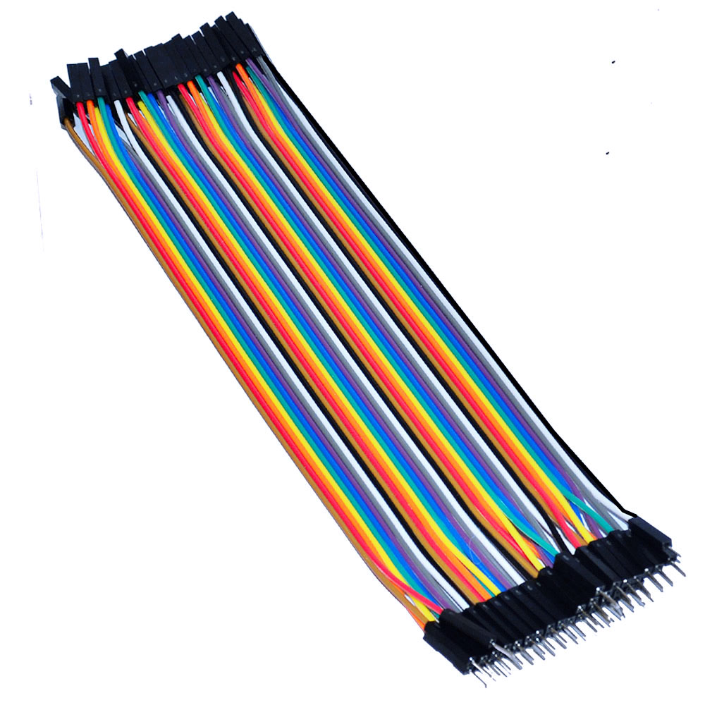 Free Shipping ! (3pcs/lot)  20cm 2.54mm 40Pin  Female To Male Jumper Wire/Dupont Cable For Breadboard