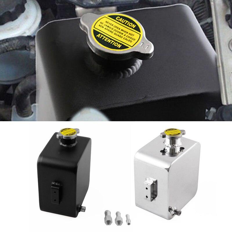 Réservoirs d'eau universels d'expansion d'en-tête automatique d'alliage d'aluminium de réservoir d'eau de la voiture 2.5L avec le chapeau