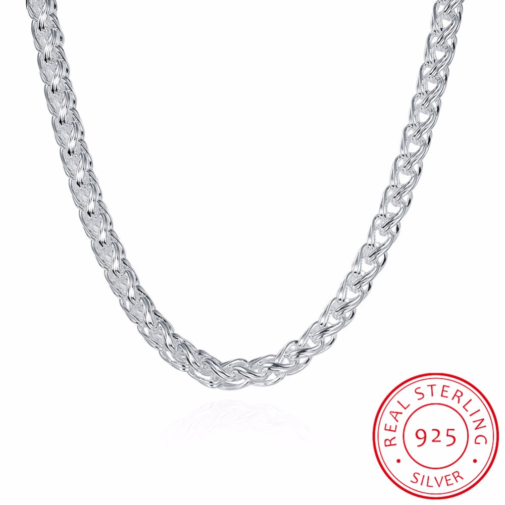 LEKANI 6MM 20inch new arrival, Silver fashion jewelry ,925 sterling silver necklace , men necklace, wholesale mens jewelryLEKANI 6MM 20inch new arrival, Silver fashion jewelry ,925 sterling silver necklace , men necklace, wholesale mens jewelry