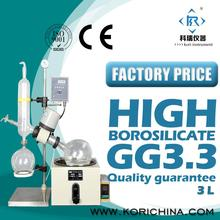 RE301 Rotary Evaporator /Rotavap with High Borosilicate GG3.3 for Lab evaporator extractions/crystallization and Vacuum