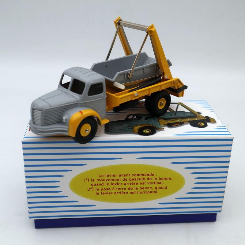 Truck reissue dinky toys atlas 34a plateau berliet benne marrel no