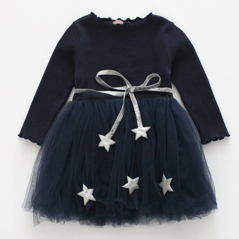 2017 New Summer Style Girls DressKids Spring Clothes Embroidery Girls Clothing Children Dress Floral Print Knee Length floral embroidery plain knee length skirt