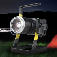 10pcs Rechargeable Portable LED Floodlight Outdoor Spotlight Emergency Work Lamp Flood Light Waterproof 30W for Camping Fishing