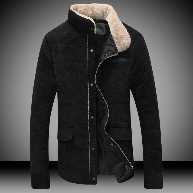 TG6160 Дешевые оптовая 2016 новый Вельвет с толстыми хлопка-ватник мужские пальто зимнее хлопка-ватник ИКОНЫ