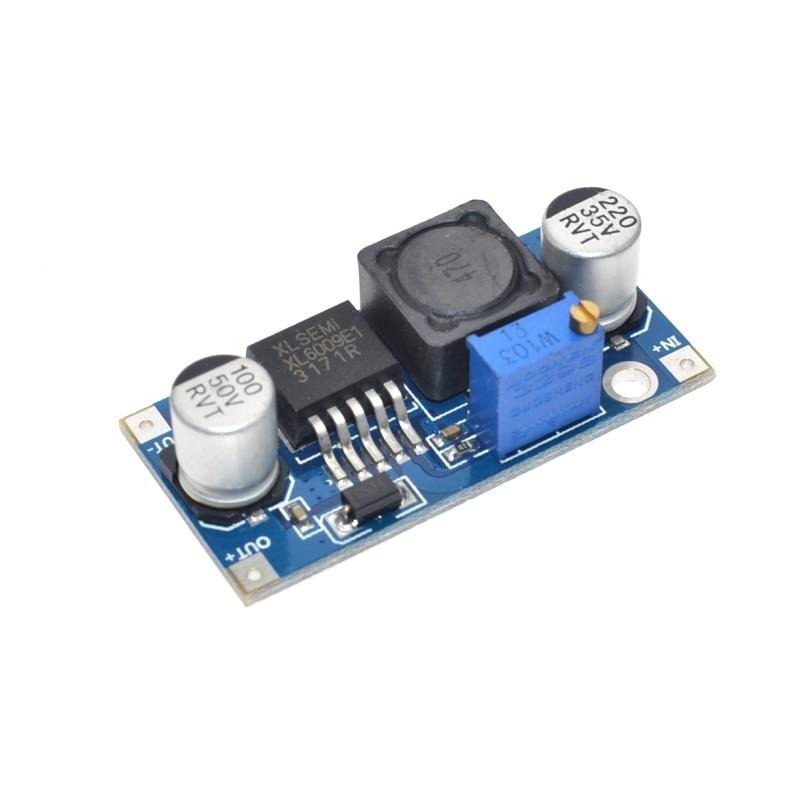 Frete Grátis XL6009 DC-DC módulo de saída do módulo módulo Impulsionador da fonte de alimentação é ajustável Super LM2577 módulo step-up