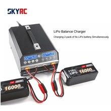 SKYRC PC1080 Lipo зарядное устройство 1080 Вт 20A 540 Вт * 2 двухканальный литиевый аккумулятор зарядное устройство для сельского хозяйства опрыскивающий Дрон БПЛА