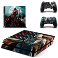 For playstation 4 Assassins Creed Syndicate Vinyl Decal Skin For play station 4 Console PS4+2Pcs Stickers For Ps4 Accessories