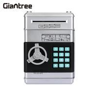 Giantree Bank ATM Password Safe Box Cartoons Container Secret Case Box Home Silvery Safe Box Money