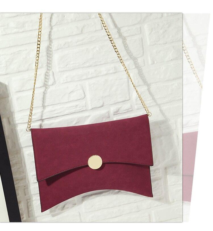 Kpop мода жени плик сцепление чанта - Дамски чанти - Снимка 4