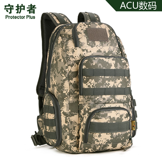 ФОТО Protector Plus Trekking Climbing Cycling Backpack Outdoor Climbing Military Tactical Rucksacks for  Camping Hiking