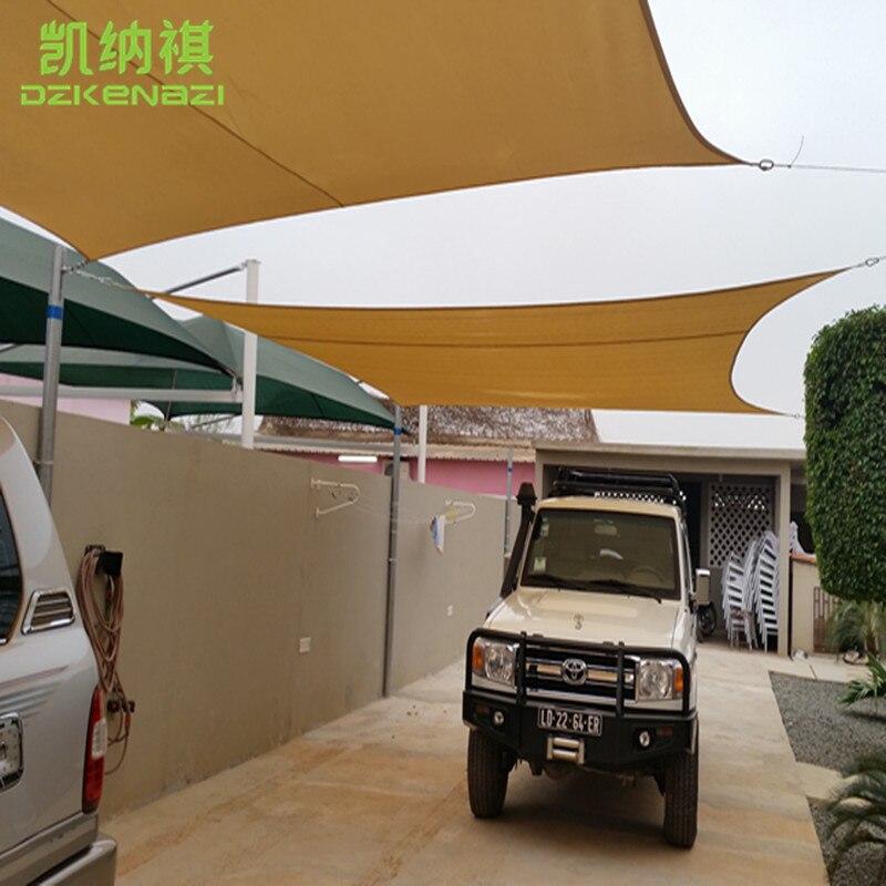 Ev ve Bahçe'ten Gölge Telken ve Ağları'de 3x4 M/ADET Açık Su Geçirmez Tente Polyester kumaş Güneş Gölge Yelken olarak kullanılan veranda güneş şemsiyesi'da  Grup 1
