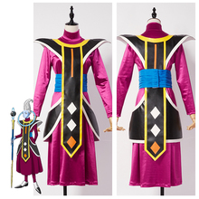 Dragonball Dragon Ball Attendant of God of Destruction Whis Outfit Halloween Cosplay Costume