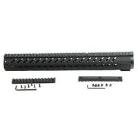 Super light Tactical 16.5 Inch AR15 KeyMod Handguard Mount Rail Carbon Fiber Glass Fiber Polymer Robust
