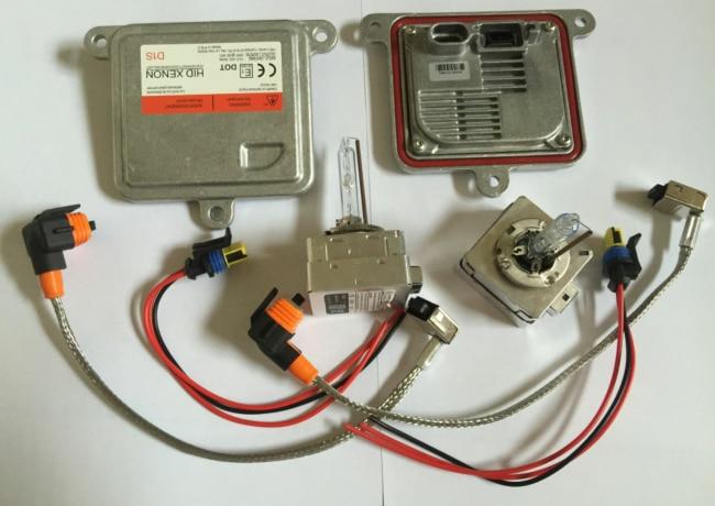 Fast Start HID Xenon Kit OS ram Ballast + PHILI D1 D3 Bulb For D1S D3S Auto Headlight Lamp Light Car Headlight Bulbs Replacement стоимость