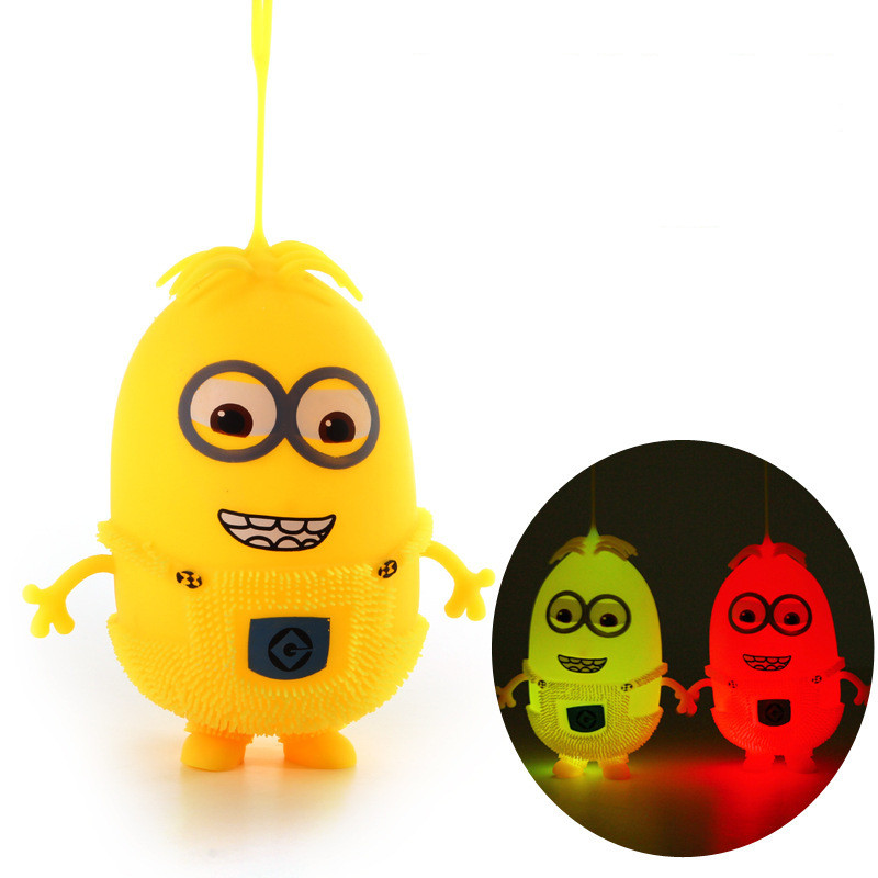 Funny gadgets anti stress toys Flash color random Puffer divertida mente caomaru geek despicable me anti stress ball kids toy