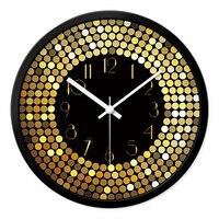 Large Decorative Mirror Quartz Wall Clocks Home Decor Vintage European Luxury Vintage Clock Living Room Kol Saati Oclock 70B0100