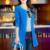 TANGNEST Sólida Casuais Blazer 2016 Nova Moda O Pescoço Invisível Sólida Breasted Casaco de Trincheira Magro Ocasional Longo SuitsFemale WWX140
