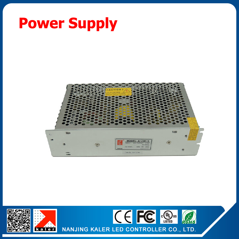 1pcs 200w Led Display Power Supply 5V 40A Power Adapter For Led Screen