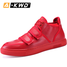 Red Trainers Elevator Shoes for Men Sneakers Luxury Brand Mo
