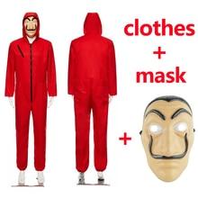 Salvador Dali Cosplay Movie Mask Money Heist The House of Paper La Casa De Papel Costume Face for kids adult