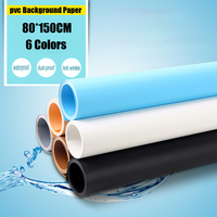 80 150CM PVC Photo Studio Material Background 6 Colors Can Choose Backdrop Anti Wrinkle Photography Background
