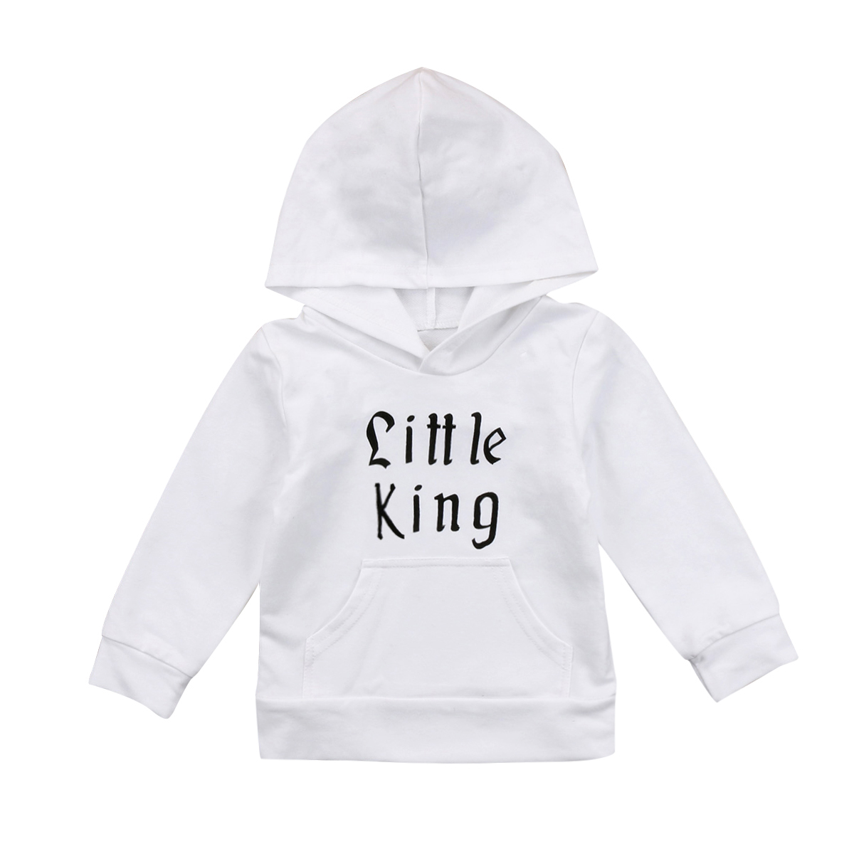 Babies Little Boys Letter Hooded Pocket T-shirt Casual Toddler Newborn Baby Boy Girl Hoodie Tops Hooded Outdoor 0-5Y Clothing одежда на маленьких мальчиков