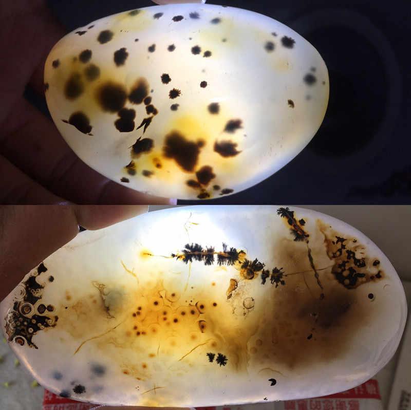 Ágata de jade do oceano áspero natural da ágata 100g
