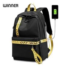 купить USB Charging Backpack Anti-theft School Bags For Teenagers Girl Laptop Backpack Mochila Feminina Students Satchel Travel Bag дешево