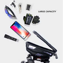 MEIYI Bike Phone Holder Universal Bike Mobile Support Stand Waterproof Bag For iPhone XS Max/XR/X GPS Bicycle Moto Handlebar Bag