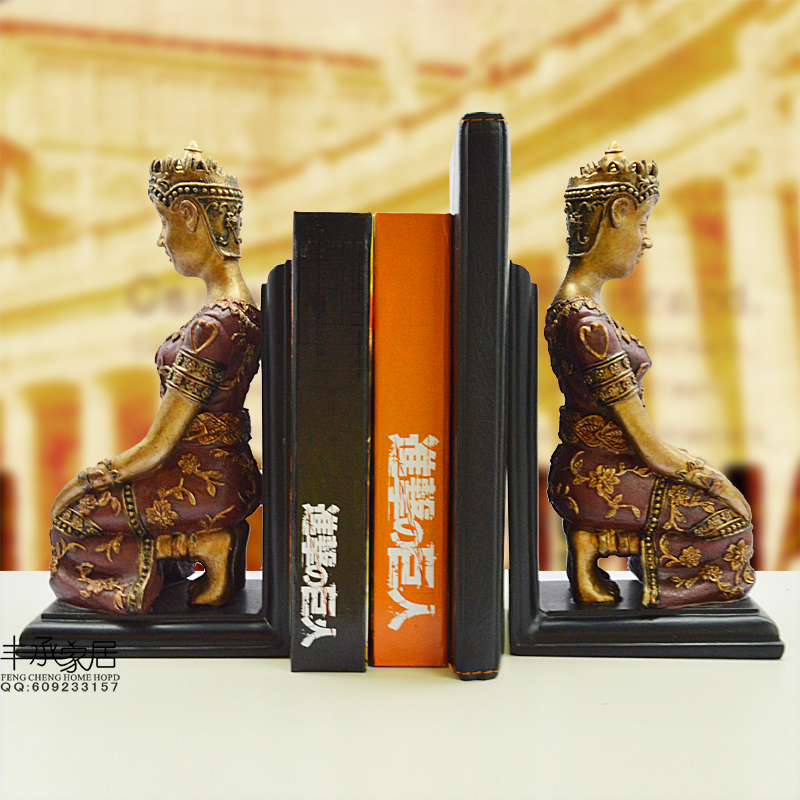 все цены на Vintage elegant book end elegant bookend fashion book clip accessories classical book ends