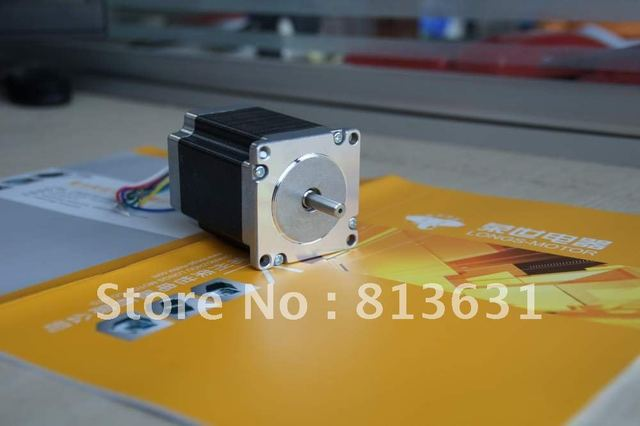 1 pcs Nema 23 Dual  Stepper Motor 112mm /400 OZ-IN CNC MILL Router Kits