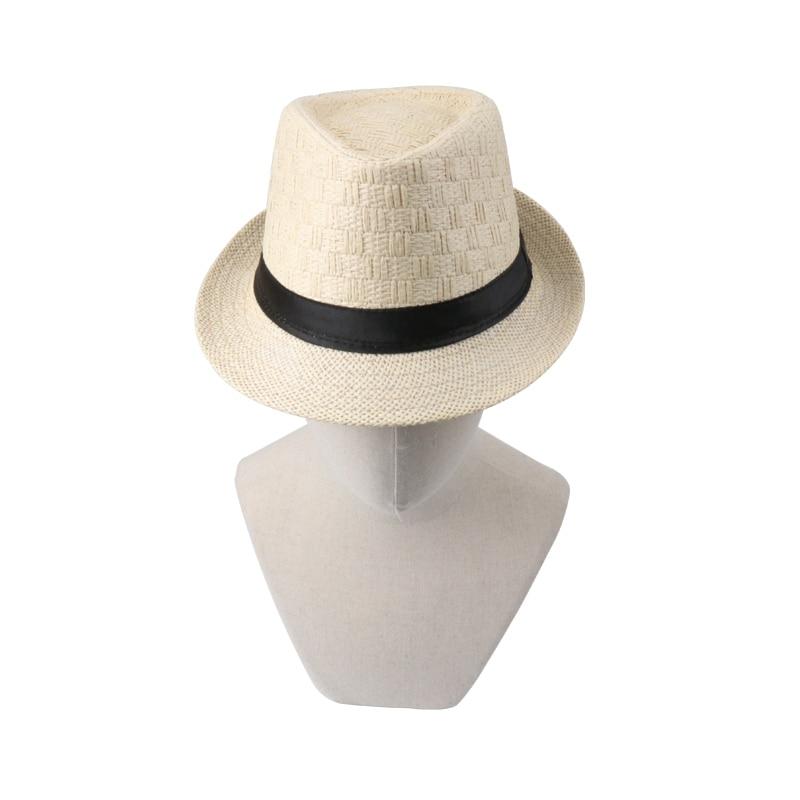 18 Summer Cowboy Hat Straw Hat Cappello Leisure Beach Visor Women Hat Hoeden Voor Mannen chapeau de paille femme Hats Caps Men 13