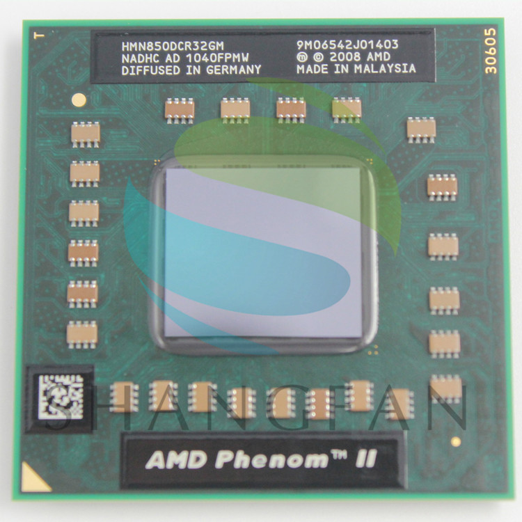 AMD cpu laptop N850 HMN850DCR32GM CPU 1.5 M Cache/2.2 GHz/Socket S1 triple Core processador de Laptop N 850 N-850