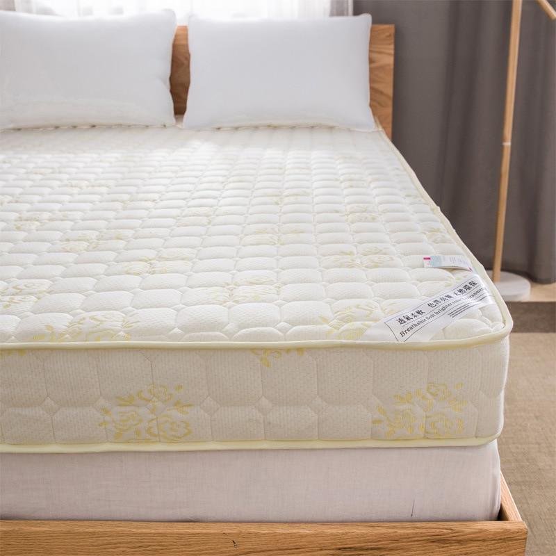 New Style 10cm/6cm 3D High Rebound Memory Foam Mattress Classic Design White/Blue High Quality Thick Warm Comfortable Mattress natural latex mattress comfort revolution hydraluxe gel memory foam mattress