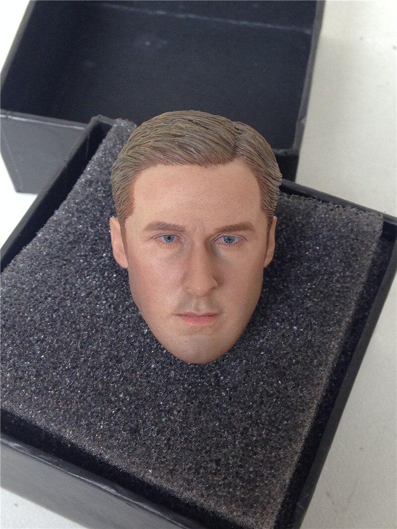 1/6 head Sculpture of Ryan GoslingLin K-HOBBY soldier head Sculpture Model lingerie top