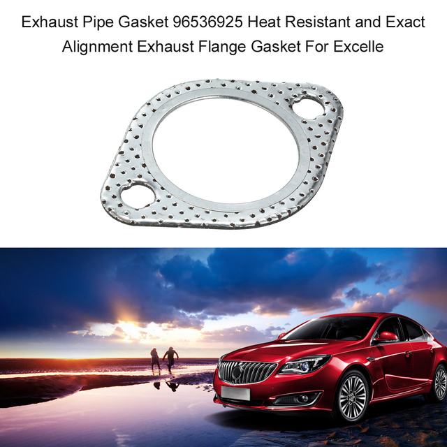 US $1 98 |Auto Accessories Exhaust Pipe Gasket 96536925 Heat Resistant and  Exact Alignment Exhaust Flange Gasket For Excelle-in Exhaust Gaskets from