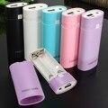 Дешевый Безопасности универсальное Портативное 5 В 1A USB 18650 Power Bank Дело комплект Зарядное Устройство DIY Box для iPhone для всех Мобильных Телефонов