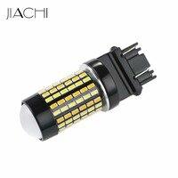 JIACHI 2x3157 Switchback LED Ampoule Double Couleur Lumière Blanc & Ambre P27/5 W 3155 3457 4157 Pour Les Feux Clignotants et DRL Lampes