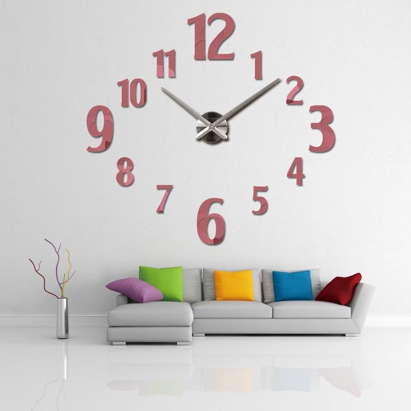 2019 νέο ρολόι τοίχου χαλαζία ρολόι - Διακόσμηση σπιτιού - Φωτογραφία 5